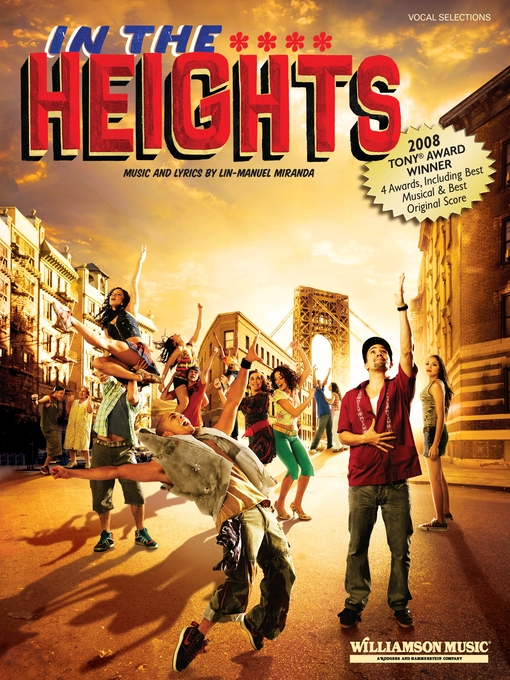 Title details for In the Heights (Songbook) by Lin-Manuel Miranda - Wait list