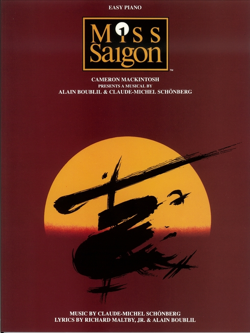 Title details for Miss Saigon (Songbook) by Alain Boublil - Available
