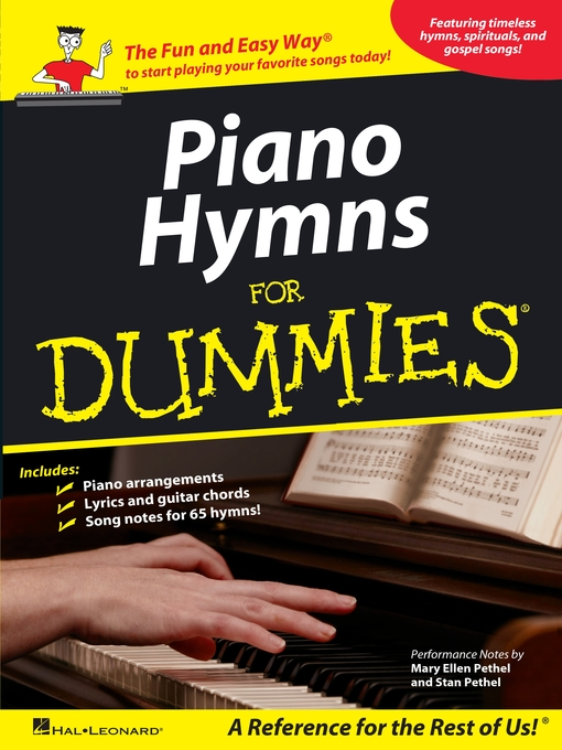 Piano Hymns for Dummies (Songbook) - North Carolina Digital Library