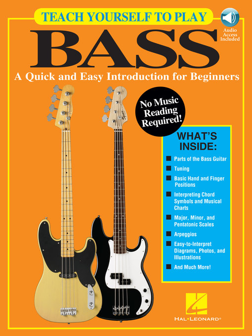 Title details for Teach Yourself to Play Bass by Hal Leonard Corp. - Available
