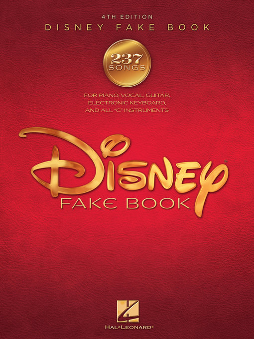 Title details for The Disney Fake Book by Hal Leonard Corp. - Available