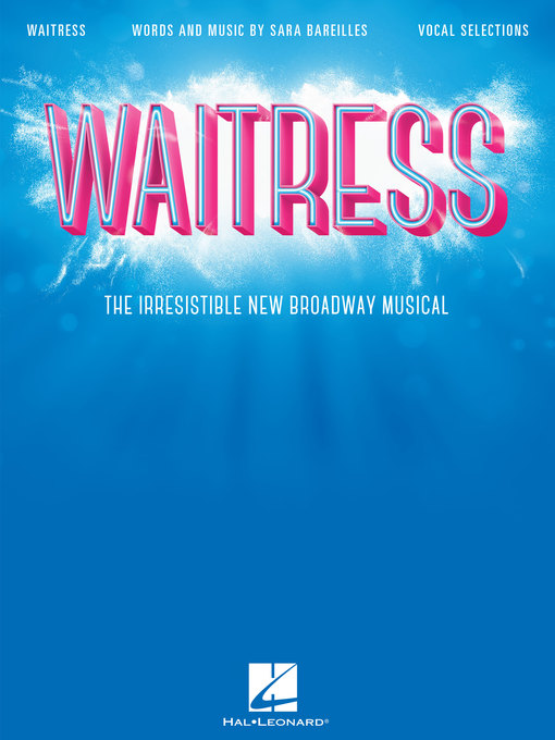 Title details for Waitress Songbook by Sara Bareilles - Available