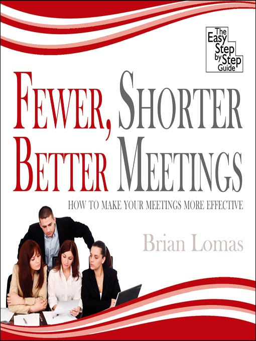 Cover of Fewer, Shorter, Better Meetings