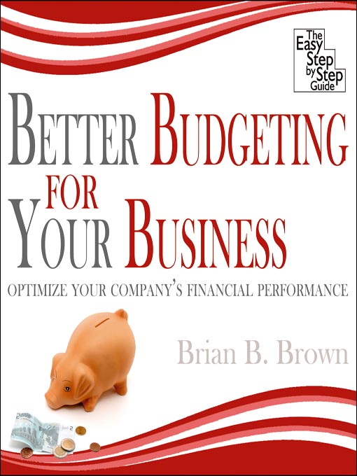 Cover image for Better Budgeting for Your Business