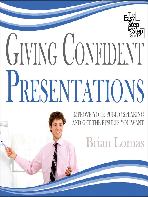 Cover of Giving Confident Presentations