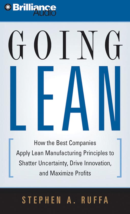 Title details for Going Lean by Stephen A. Ruffa - Wait list