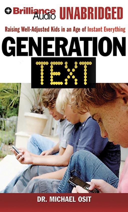 Title details for Generation Text by Dr. Michael Osit - Wait list