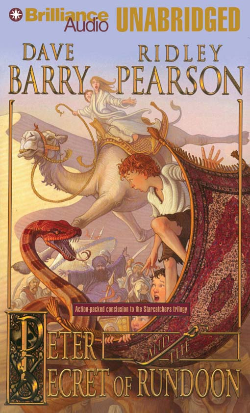 Title details for Peter and the Secret of Rundoon by Dave Barry - Wait list