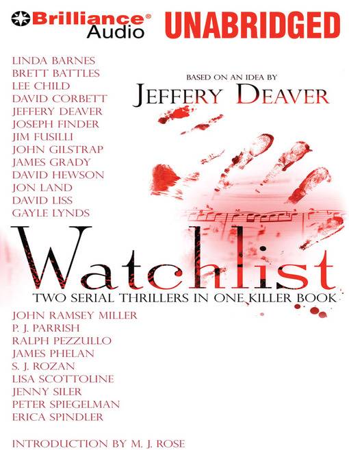 Title details for Watchlist by Jeffery Deaver (et al) - Wait list