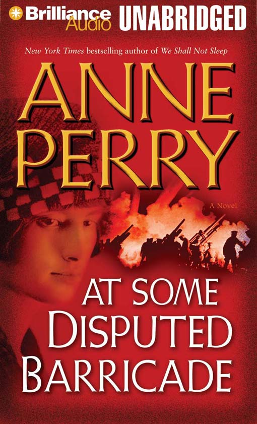 Title details for At Some Disputed Barricade by Anne Perry - Wait list