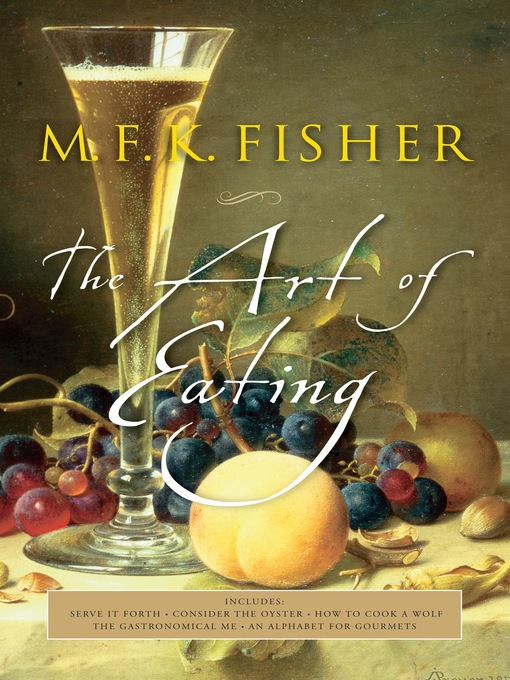 Title details for The Art of Eating by Joan Reardon - Wait list