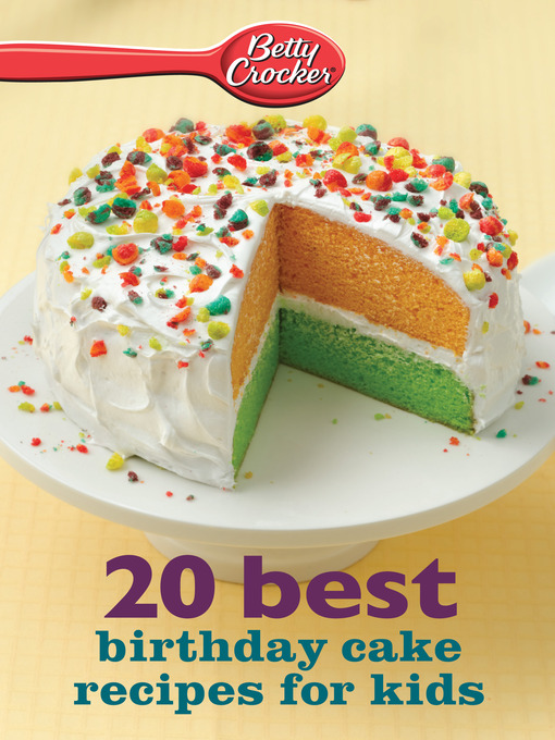 Fantastic Betty Crocker 20 Best Birthday Cakes Recipes For Kids National Birthday Cards Printable Opercafe Filternl
