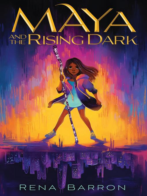 Cover of Maya and the Rising Dark