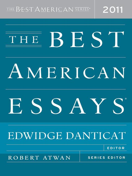 who edited the 2007 edition of the best american essays Library of america special edition] other books the future of fiction, a forum edited by david foster wallace the best american essays 2007 (2007).