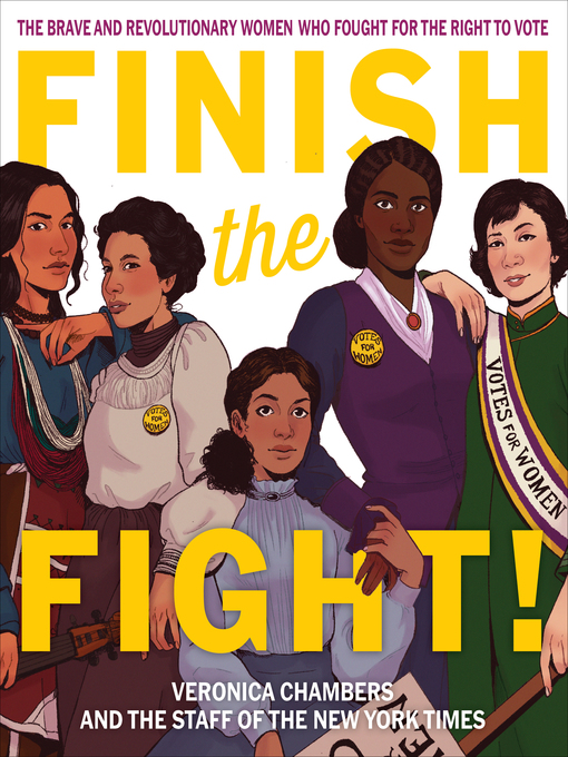 Title details for Finish the Fight! by Veronica Chambers - Wait list