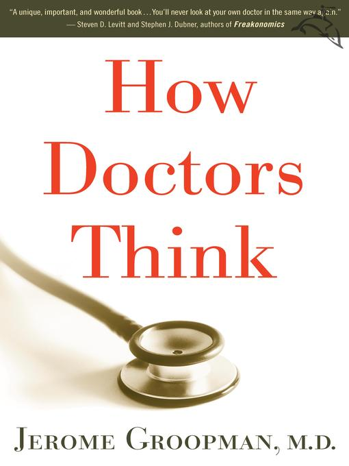 Cover of How Doctors Think