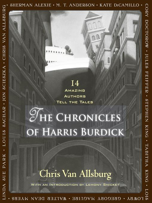 burdick chat Has anyone used the mysteries of harris burdick as a writing stimulus i'm using it for a year 4 lesson observation and wondered if anyone had any.