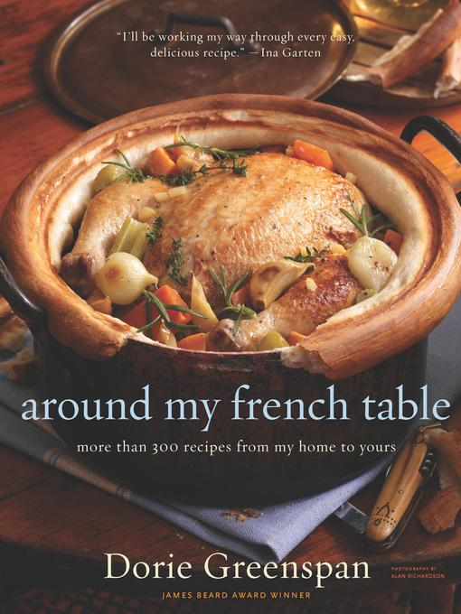 Title details for Around My French Table by Alan Richardson - Wait list