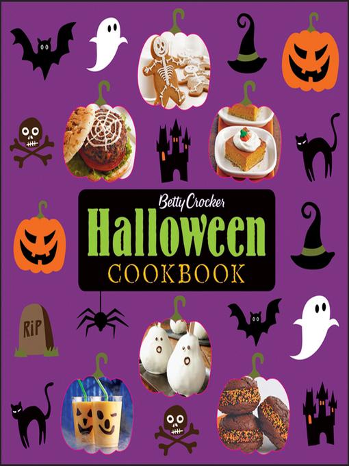 Title details for Betty Crocker Halloween Cookbook by Betty Crocker - Available