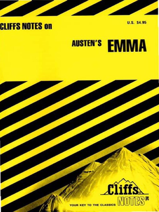 Title details for CliffsNotes on Austen's Emma by Thomas J Rountree - Available