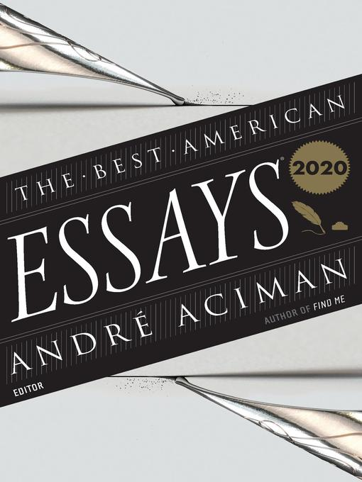 Title details for The Best American Essays 2020 by André Aciman - Available