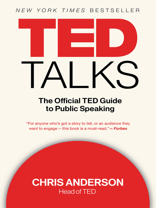 Title details for TED Talks by Chris Anderson - Wait list