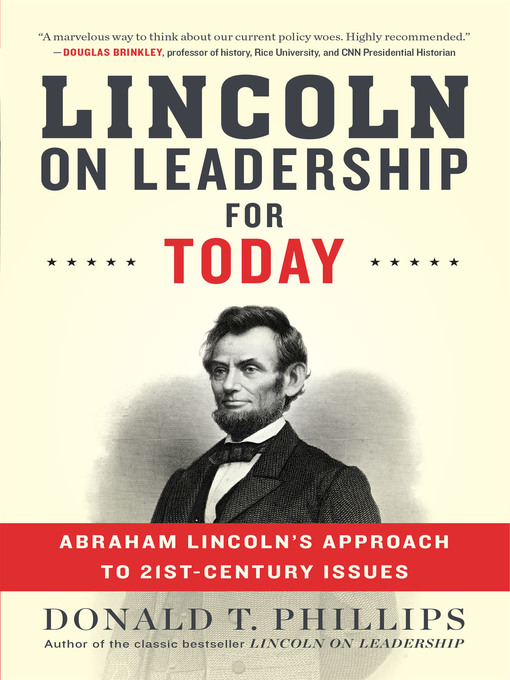 Image result for lincoln on leadership for today