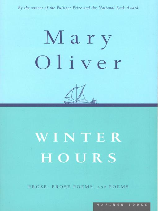 Cover of Winter Hours