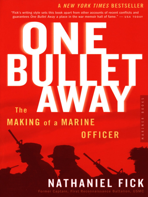 Cover of One Bullet Away