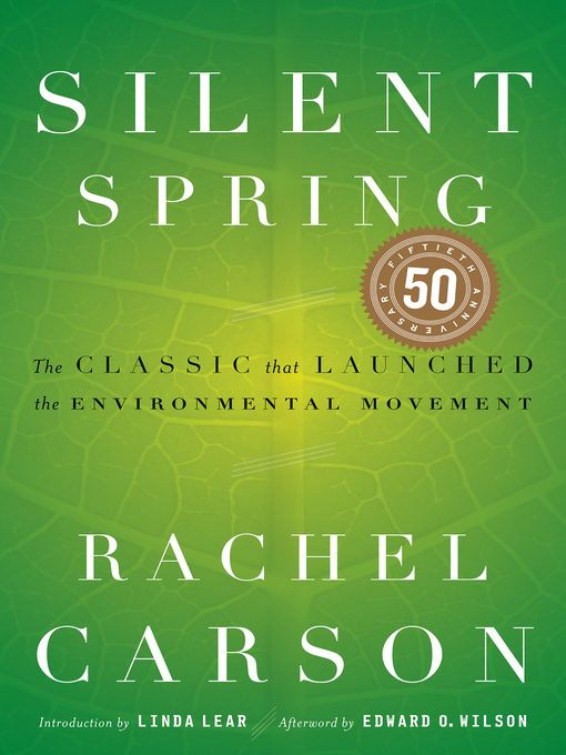 Title details for Silent Spring by Rachel Carson - Wait list