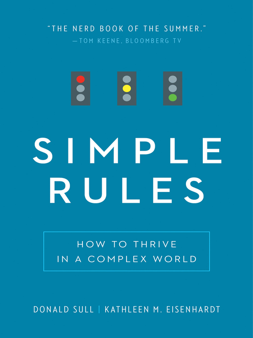 Cover image for book: Simple Rules