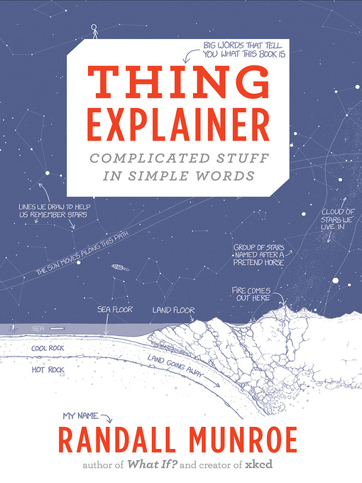Title details for Thing Explainer by Randall Munroe - Available