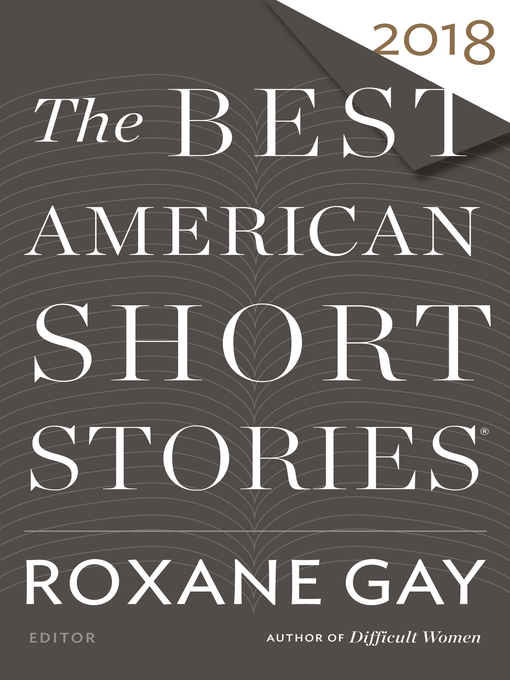 Cover of The Best American Short Stories 2018