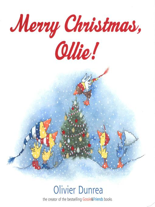 Cover image for Merry Christmas, Ollie!
