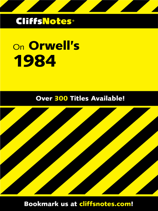 Title details for CliffsNotes on Orwell's 1984 by Nikki Moustaki - Available