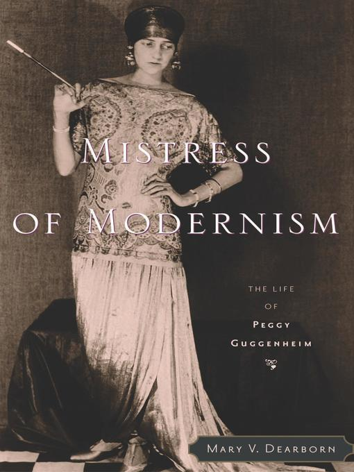 Cover of Mistress of Modernism
