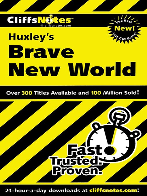Title details for CliffsNotes on Huxley's Brave New World by Regina Higgins - Available