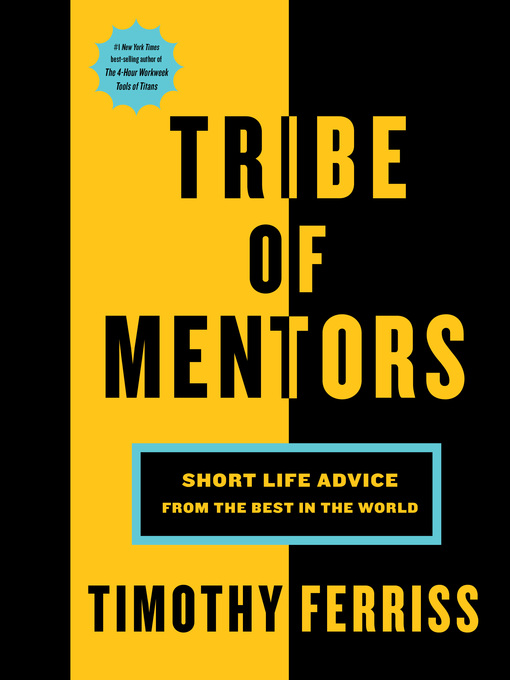 Title details for Tribe of Mentors by Timothy Ferriss - Wait list