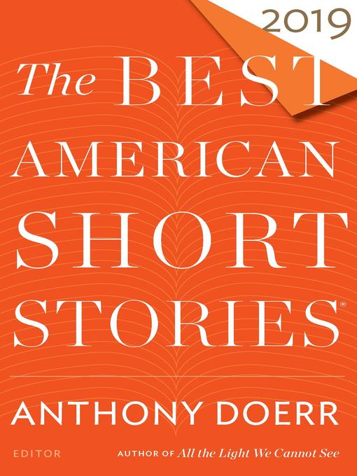 Title details for The Best American Short Stories 2019 by Anthony Doerr - Available
