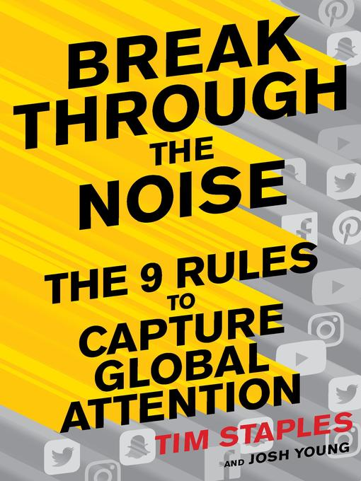 Title details for Break Through the Noise by Tim Staples - Wait list