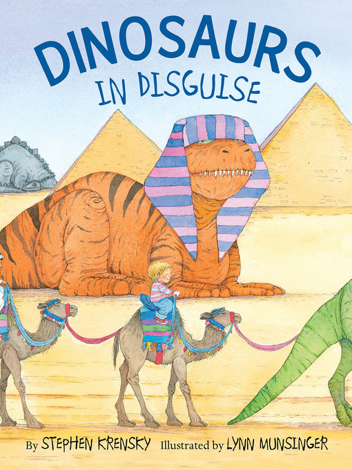 Title details for Dinosaurs in Disguise by Stephen Krensky - Wait list