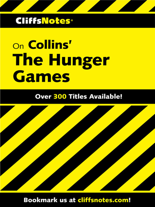 Cover of CliffsNotes on Collins' The Hunger Games