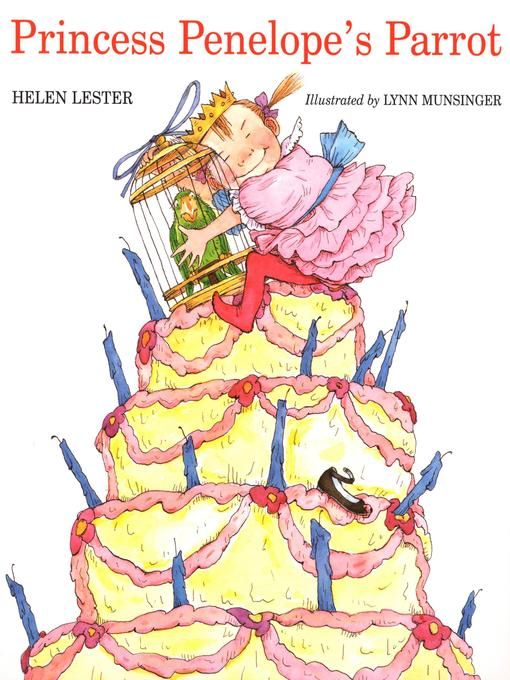 Cover image for Princess Penelope's Parrot