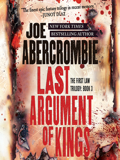 Title details for Last Argument of Kings by Joe Abercrombie - Wait list