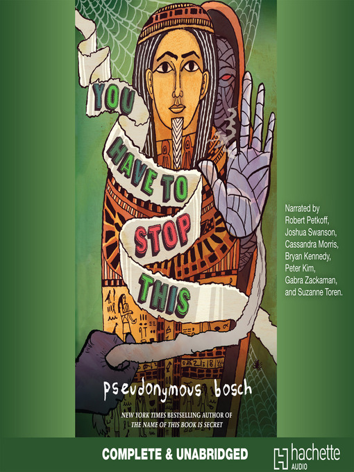 Title details for You Have to Stop This by Pseudonymous Bosch - Available
