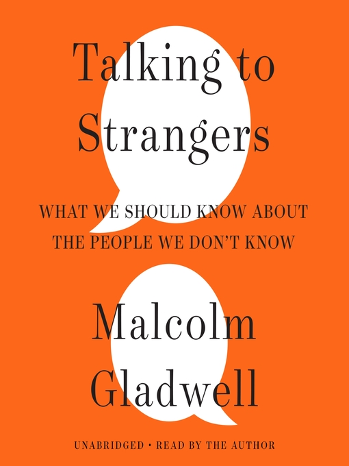 Cover image for book: Talking to Strangers