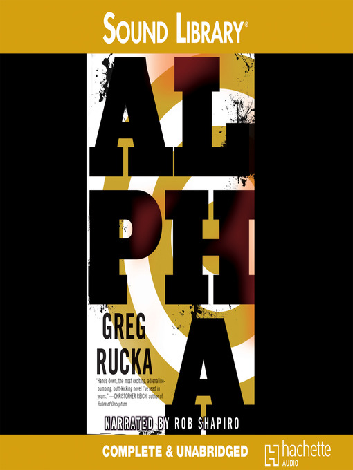 Title details for Alpha by Greg Rucka - Available