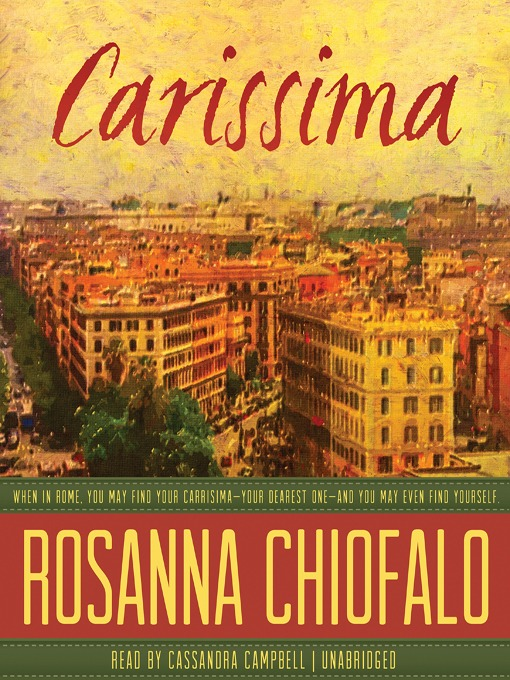 Title details for Carissima by Rosanna Chiofalo - Available