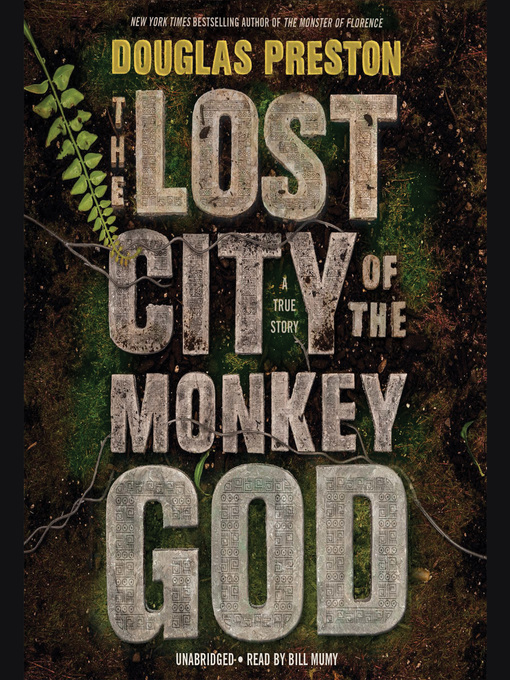 Cover of The Lost City of the Monkey God