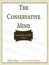Cover of The Conservative Mind